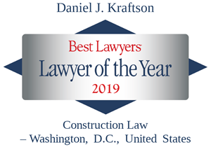 Daniel J. Kraftson: Lawyer of the Year | 2019 | Construction Law